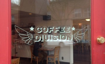 Coffee Division Door