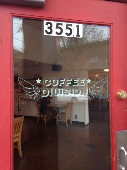 Coffee Division Door