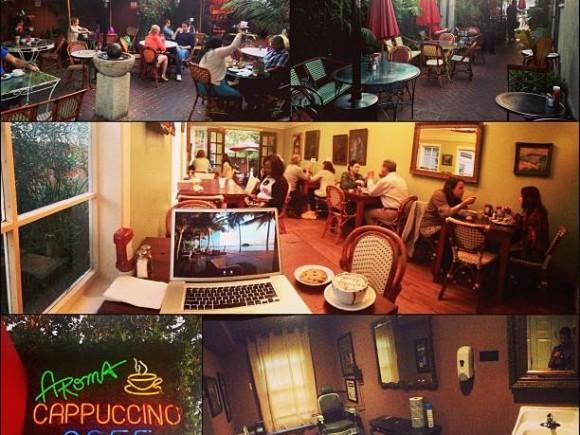 Aroma Coffee Tea Co Studio City Ca