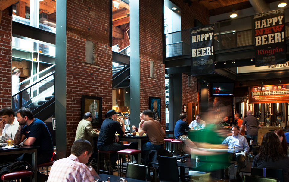 Bridgeport brew pub in portland or for Craft beer pubs near me