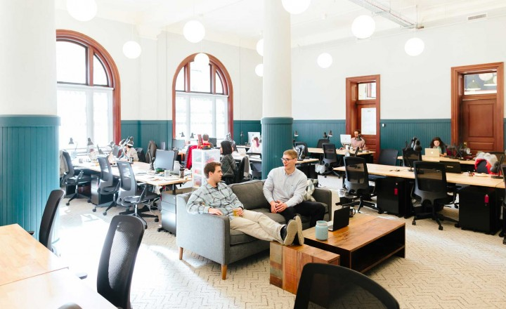 Amazing WeWork Custom House