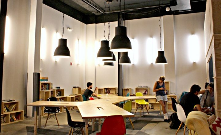 computer area lighting best places to work in new york city