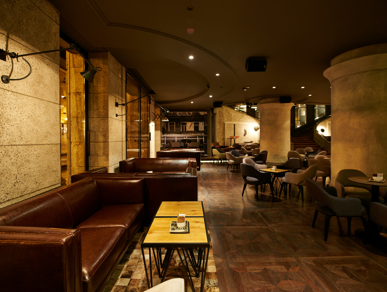 Johann Franck Coffee Lounge Bar And Restaurant In Zagreb