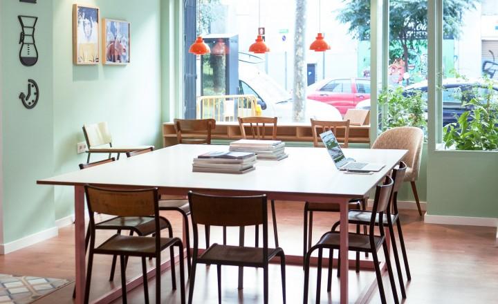 Coco COFFICE 10 bästa kaféerna att studera och jobba i Barcelona