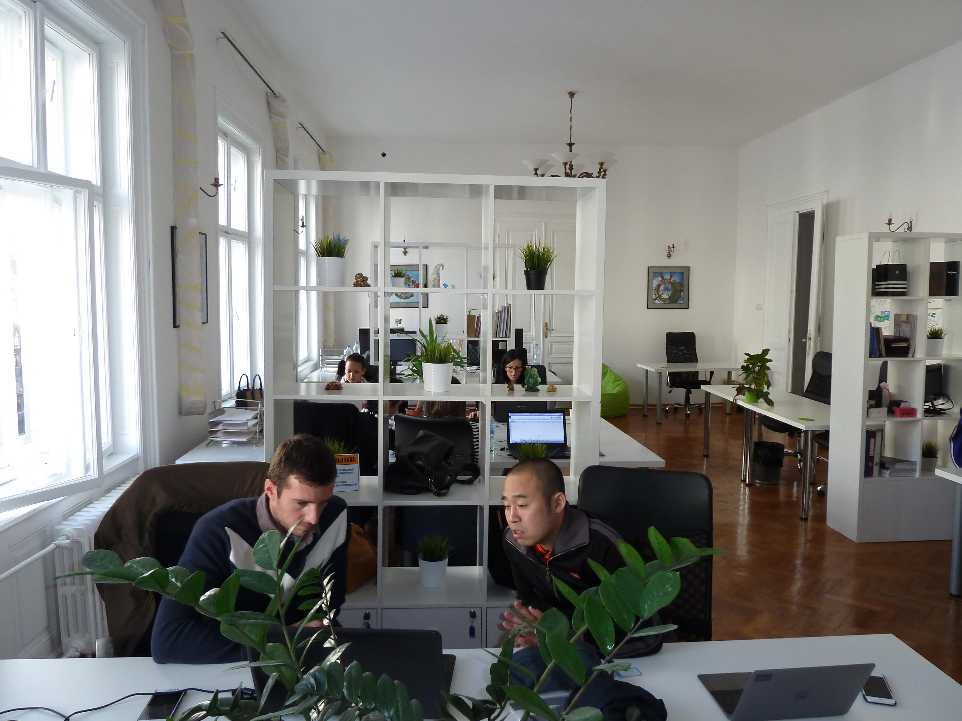 Smart Office Coworking Space In Belgrade